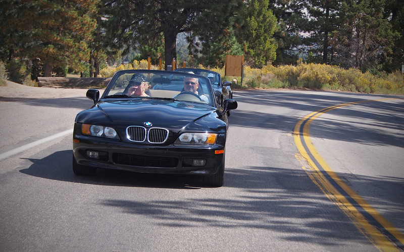 Hwy 38 going to Big Bear - 23 Sept 2012