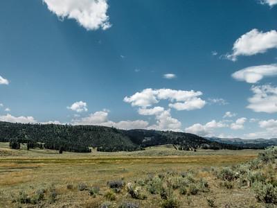 Lamar Valley in Yellowstone