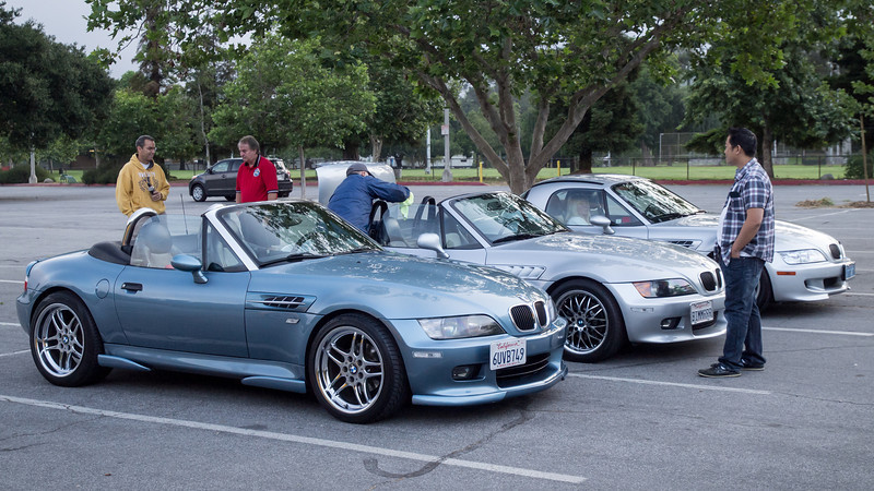 Early arrivals at the park - Bimmerfest 2013 - 18 May 2013