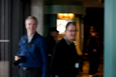 The photo is blurred to protect your public from recognizing you.:-)