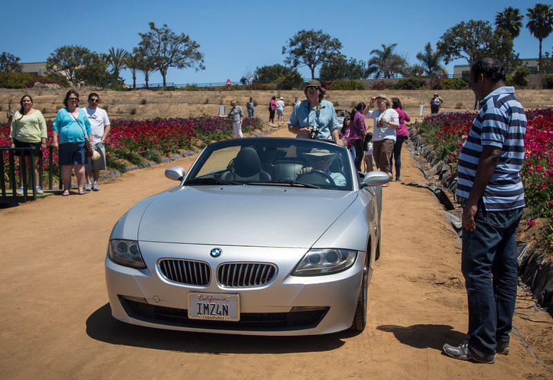 Costa Mesa to The Flower Fields at Carlsbad Ranch - 20 Apr 2013