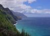 Na Pali from the Kalalau Trail