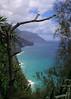 Na Pali cliffs from the Kalalau Trail