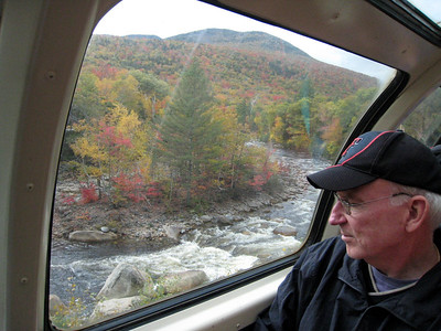 Conway Scenic Railway Trip, New Hampshire - Mike