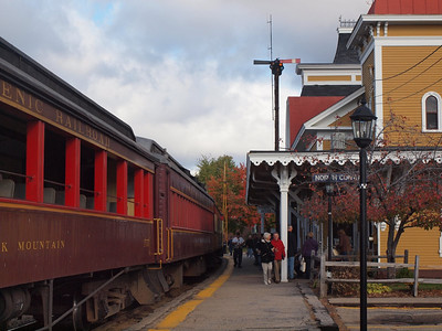 Conway Scenic Railway Trip, New Hampshire - North Conway Station