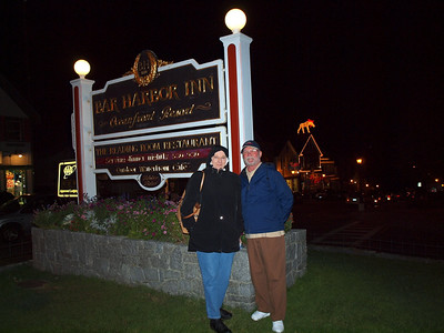 Bar Harbor Inn, Bar Harbor, Maine - BRRR!  It was COLD!!