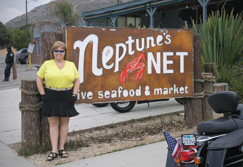 Nancy at Neptune's Net - 1 Oct 2006