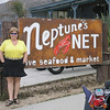 Nancy at Neptune's Net - 1 Oct 2006