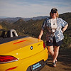 Nancy and the Rumble Beast in Malibu Canyon - 29 Jan 2012