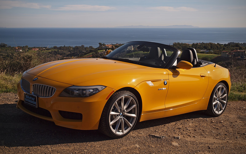 The Rumble Beast in Malibu Canyon overlooking the Pacific Ocean and Catalina Island - 29 Jan 2012