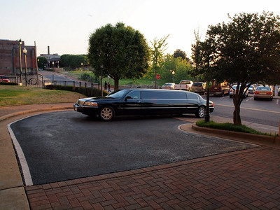 Your limo had arrived!  Where are the paparazzi?