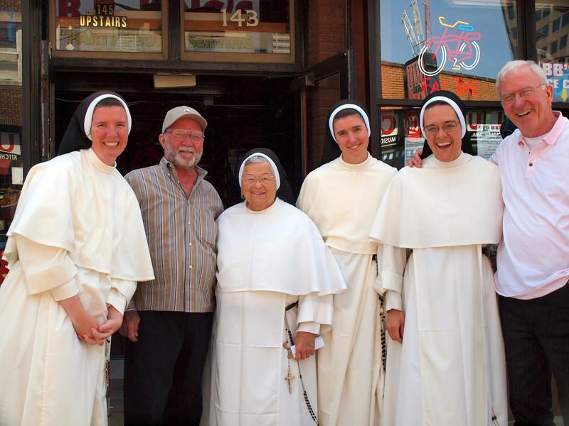 Some neat Dominican sisters we met on Beale Street