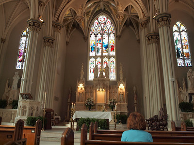 Mass at St. Peter Catholic Church