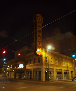 The historic Orpheum