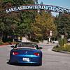 Arrival at Lake Arrowhead Village - 30 Sept 2012