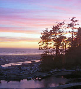 Sunset, Kalaloch Beach