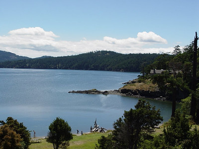 View from room - Orcas Island