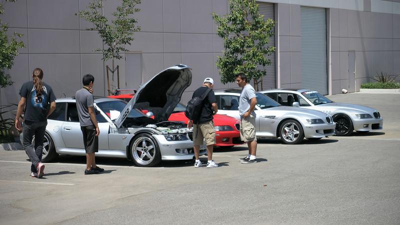 Z3 Coupes at Riverside Raceway Museum - 8 June 2008