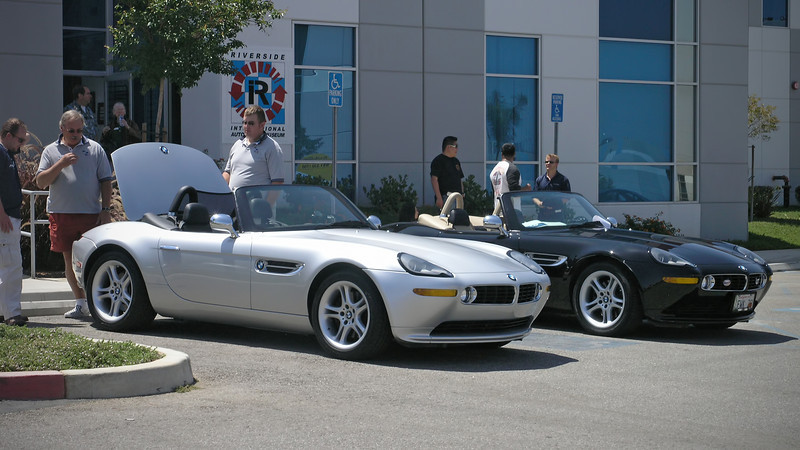 A couple of Z8 Roadsters at Riverside Raceway Museum - 8 June 2008