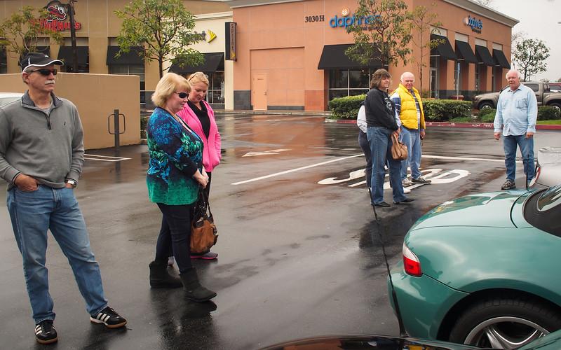 SoCalZ's Meet at Starbucks before the drive - 26 Jan 201326 Jan 2013