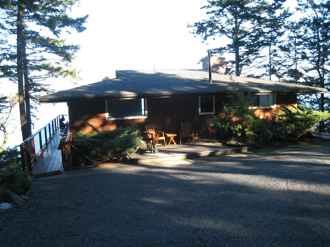 Robinson Cove house on San Juan Island