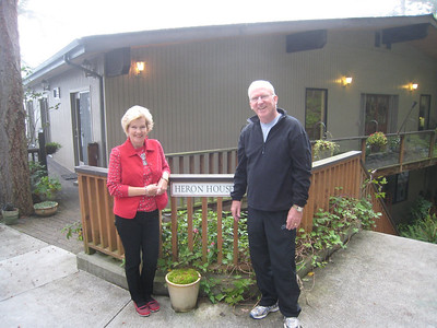 Very cool bed and breakfast in Anacrotes - the Heron House (Mike and Linda)