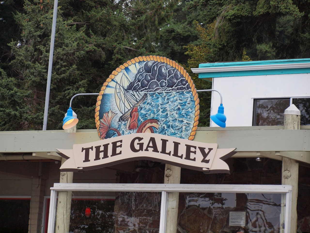 Pub Lunch - Day 4The Galley on Lopez Island