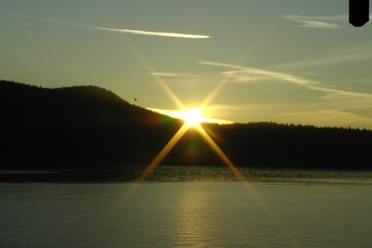 Sunset - Day one - Anacortes