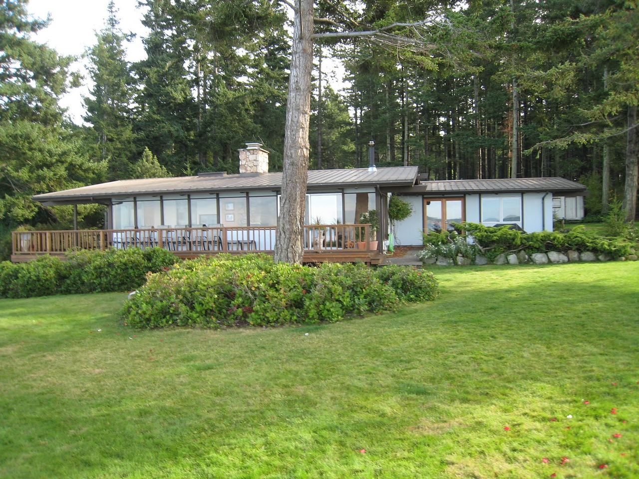 Our rental house on Orcas IslandPoint Thompson House