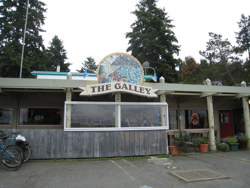 Pub Lunch - Day 4 The Galley on Lopez Island
