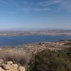 View of Lake Elsinore from Ortega Highway - 18 Feb 2012