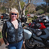 Nancy at Cook's Corner on Santiago Canyon Road - 18 Feb 2012