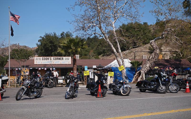 Cook's Corner on Santiago Canyon Road - 18 Feb 2012