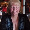 Nancy having lunch at Cook's Corner on Santiago Canyon Road - 18 Feb 2012