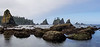 low tide pano
