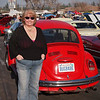 Nancy my Bug Babe at Supercar Sunday in Thousand Oaks - 26 Feb 2012