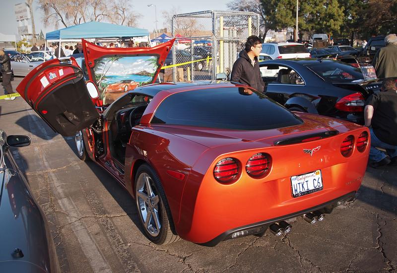 Fancy Corvette at Supercar Sunday in Thousand Oaks - 26 Feb 2012