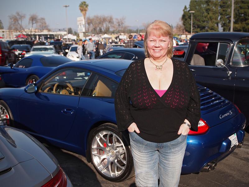 Nancy at Supercar Sunday in Thousand Oaks - 26 Feb 2012