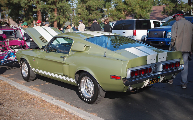 1968 Shelby GT500 KR  at Supercar Sunday in Thousand Oaks - 26 Feb 2012