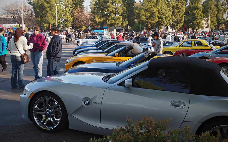 SoCalZ lineup at Supercar Sunday in Thousand Oaks - 26 Feb 2012