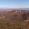 The view from Saddle Peak Road - 14 Oct 2012