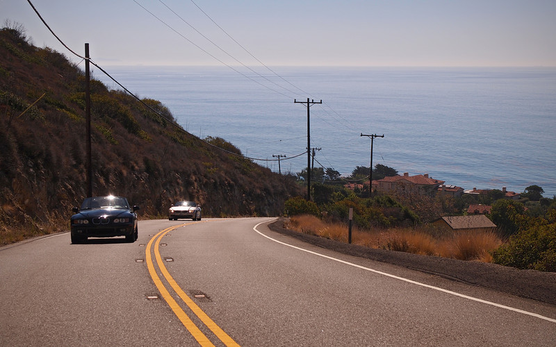 Heading up Decker Canyon Road - 14 Oct 2012