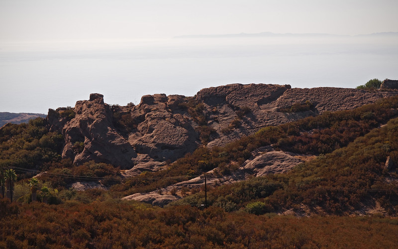 View from Saddle Peak Road - 14 Oct 2012
