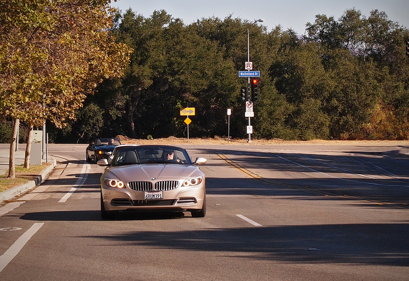 Heading for the canyon - 14 Oct 2012