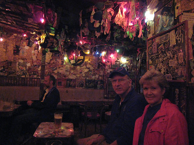 Mike and Linda at Big Bad John's Bar