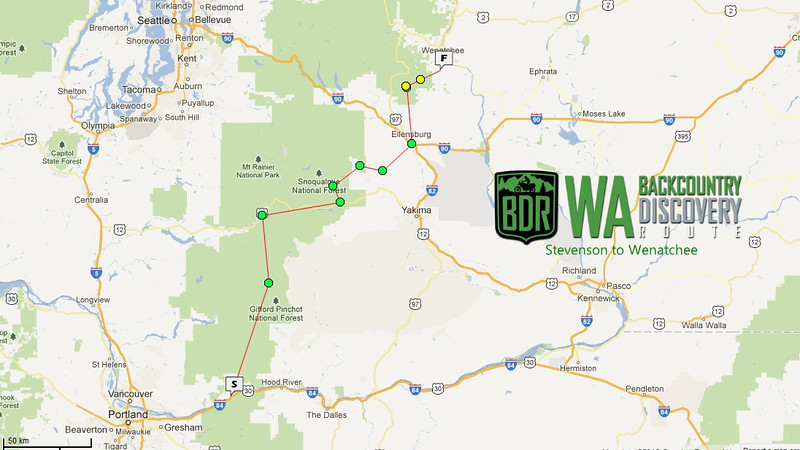 Episode 1: South to North, Stevenson to Wenatchee