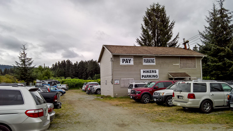 Park the bike at Evan's in Gordon River