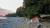 Camped at Orange Juice Creek