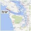 West Coast Trail area map