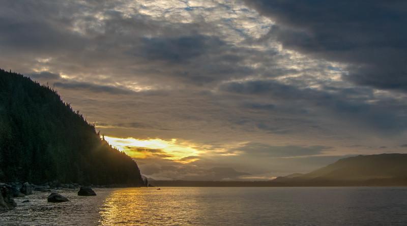 Sunrise at Thrasher Cove